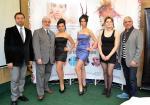 Rodrigo Frey, Director General Cosmosal�n Sur; Carlos Oviedo, Gerente Comercial; y Marcos Caama�o, estilista.